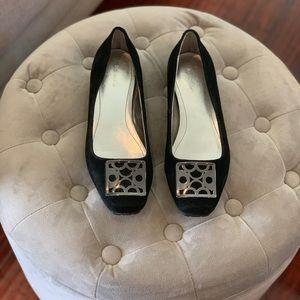 Calvin Klein Suede Flat Shoes